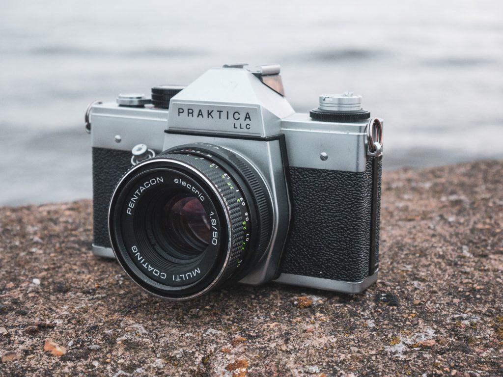 Praktica LLC with Pentacon Electric 50mm f/1.8 lens
